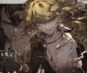 anime, tanya, and evil image