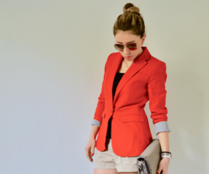 blazer, hair, and shades image