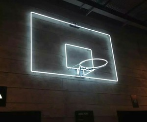 neon and Basketball image
