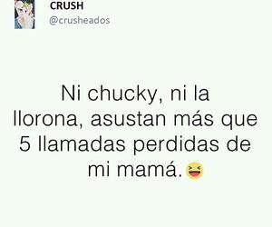 Chucky, mama, and español image