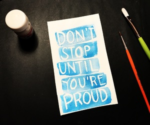 frases, lettering, and proud image