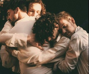 the 1975, band, and adam hann image