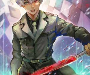 art, kaneki ken, and investigator image