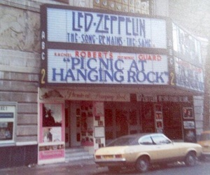led zeppelin, 70s, and brown image