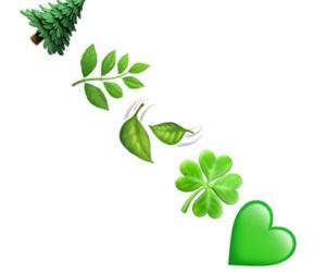 green, overlays, and emoji image