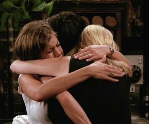 Courteney Cox, Jennifer Aniston, and Lisa Kudrow image