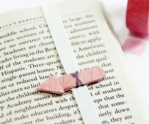 book, bookmark, and diy image