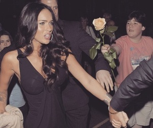 megan fox, funny, and rose image