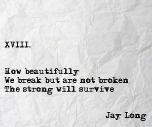 beautiful, quotes, and broken image