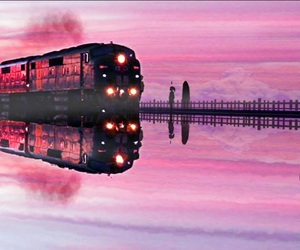 art, pink, and spirited away image