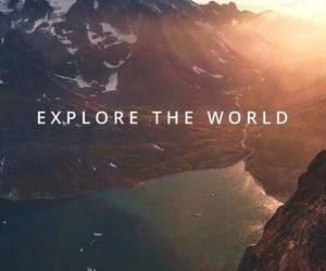 world, explore, and travel image