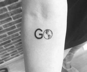 tattoo, travel, and go image