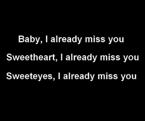 miss you, sad, and love image