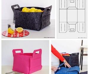 bag, storage, and basket image