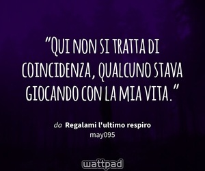 frasi, wattpad, and destino image