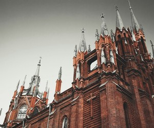 cathedral, moscow, and russia image