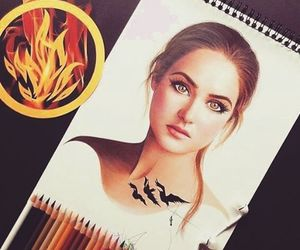 divergent, art, and drawing image