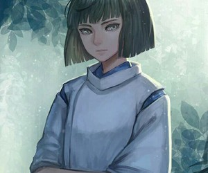 anime, haku, and spirited away image