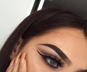 eyebrows and makeup image