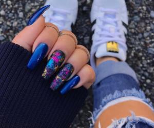 adidas, amazing, and nails image