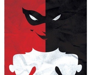 harley quinn, wallpaper, and red image