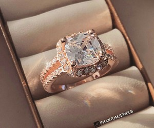 diamond, ring, and jewellery image