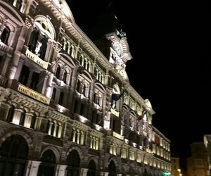 beautiful, lights, and trieste image