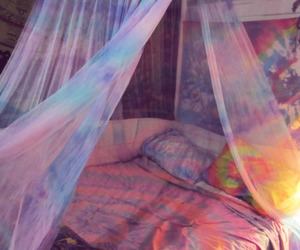 be, bedroom, and canopy image