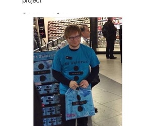funny and ed sheeran image