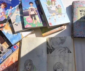 anime, death note, and drawings image
