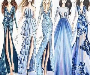blue, fashion, and design image