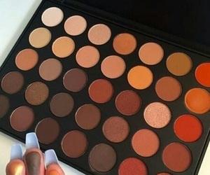 makeup, pretty, and eyeshadow image