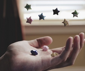 Paper and stars image