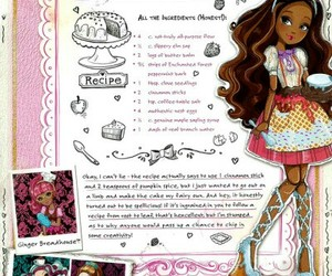 cook, ever after high, and girl image