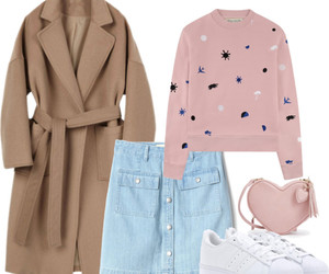Polyvore, skirt, and spring image