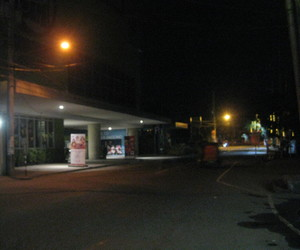 lights, street, and night image