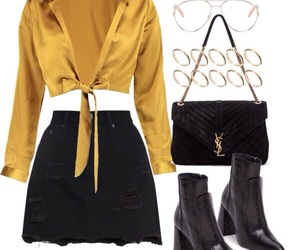 fashion, street style, and Polyvore image