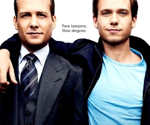 suits, harvey, and mike image
