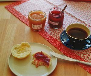 jam, tea, and breakfast image