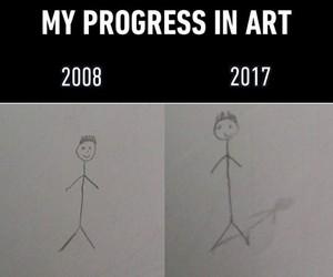 funny, art, and progress image