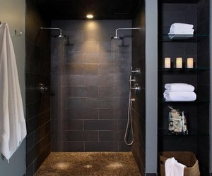 bathroom, house, and design image