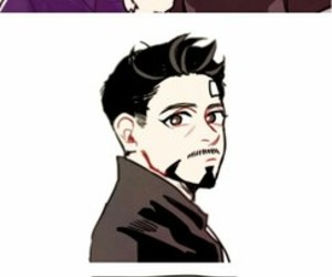 bl, yaoi, and iron man image