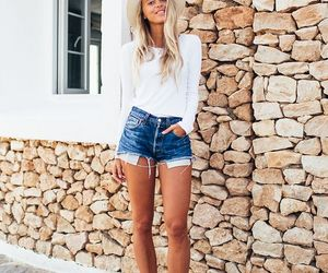 outfit, primavera, and short image
