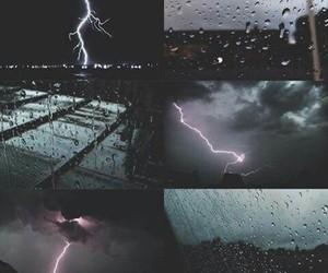 inspiration, nature, and rain image
