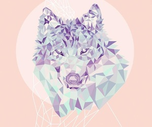 wallpaper, wolf, and background image