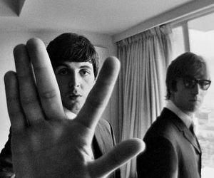 Paul McCartney, the beatles, and john lennon image