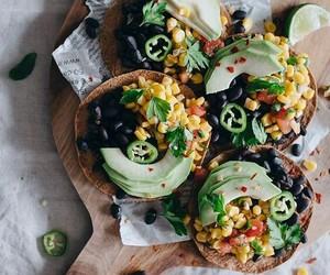 avocado, food, and tacos image