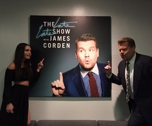 james corden, late late show, and bea miller image