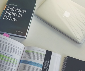 books, Law, and law student image