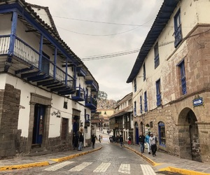 streets, cusco, and américa image